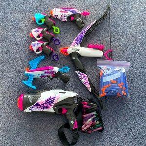 Nerf Rebelle toys